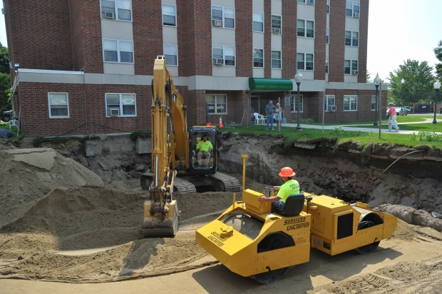Excavation unearths forgotten home in downtown Glens Falls